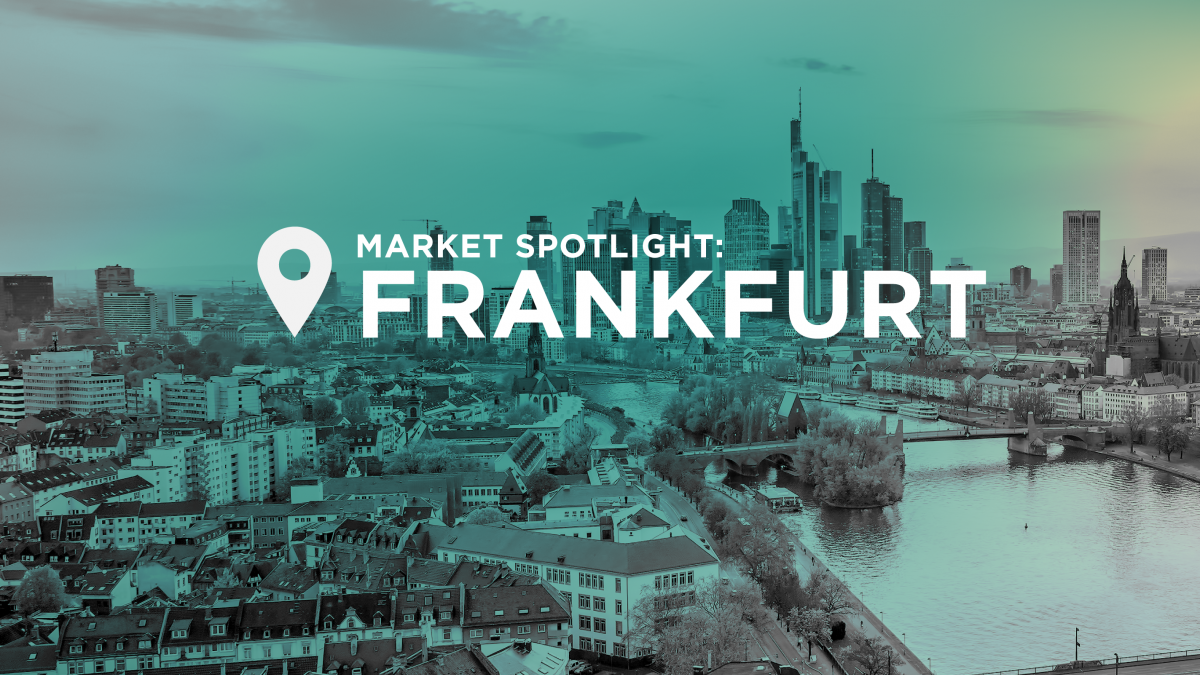 Ich bin ein Frankfurter – Why Frankfurt is Europe's Hottest Data Center Market