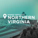 What made Northern Virginia the world's largest data center market?